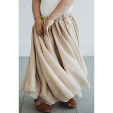 Load image into Gallery viewer, Aurora Maxi  Skirt - Champagne,bottoms,LeleGray.com