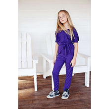 Load image into Gallery viewer, Emmaleigh Jumpsuit - Eggplant,Romper,LeleGray.com