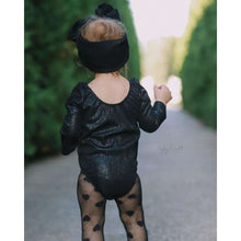 Load image into Gallery viewer, Livia Long Sleeve Leotard - Time to Shine Onyx,Leotard,LeleGray.com