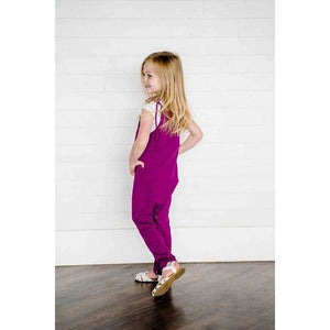NEW Cleo Tie Strap Bubble Jumpsuit - Bright Pomegranate,Romper,LeleGray.com