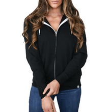 Load image into Gallery viewer, Pre-Order Unisex Lightweight Jacket to Bag Quikflip - Black,top,LeleGray.com