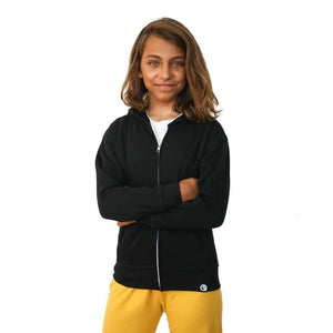 Pre-Order Youth Unisex Lightweight Jacket to Bag Quikflip - Black,top,LeleGray.com