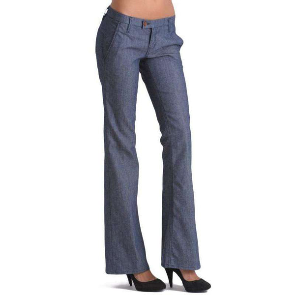 Raven Denim Wide Leg Mackenzie Trouser Pants,bottoms,LeleGray.com