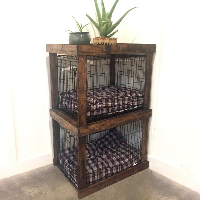 DIY Dog Crate Condo