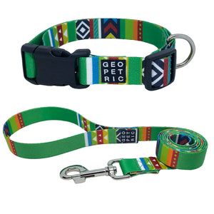 Green Blazer Collar & Leash Set