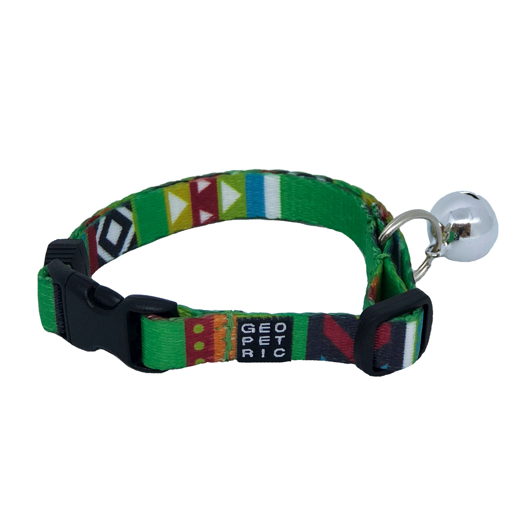 Green Blazer Cat Collar