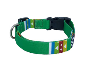 Green Blazer Standard Dog Collar