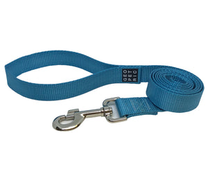 Basic Blue Logo Leash