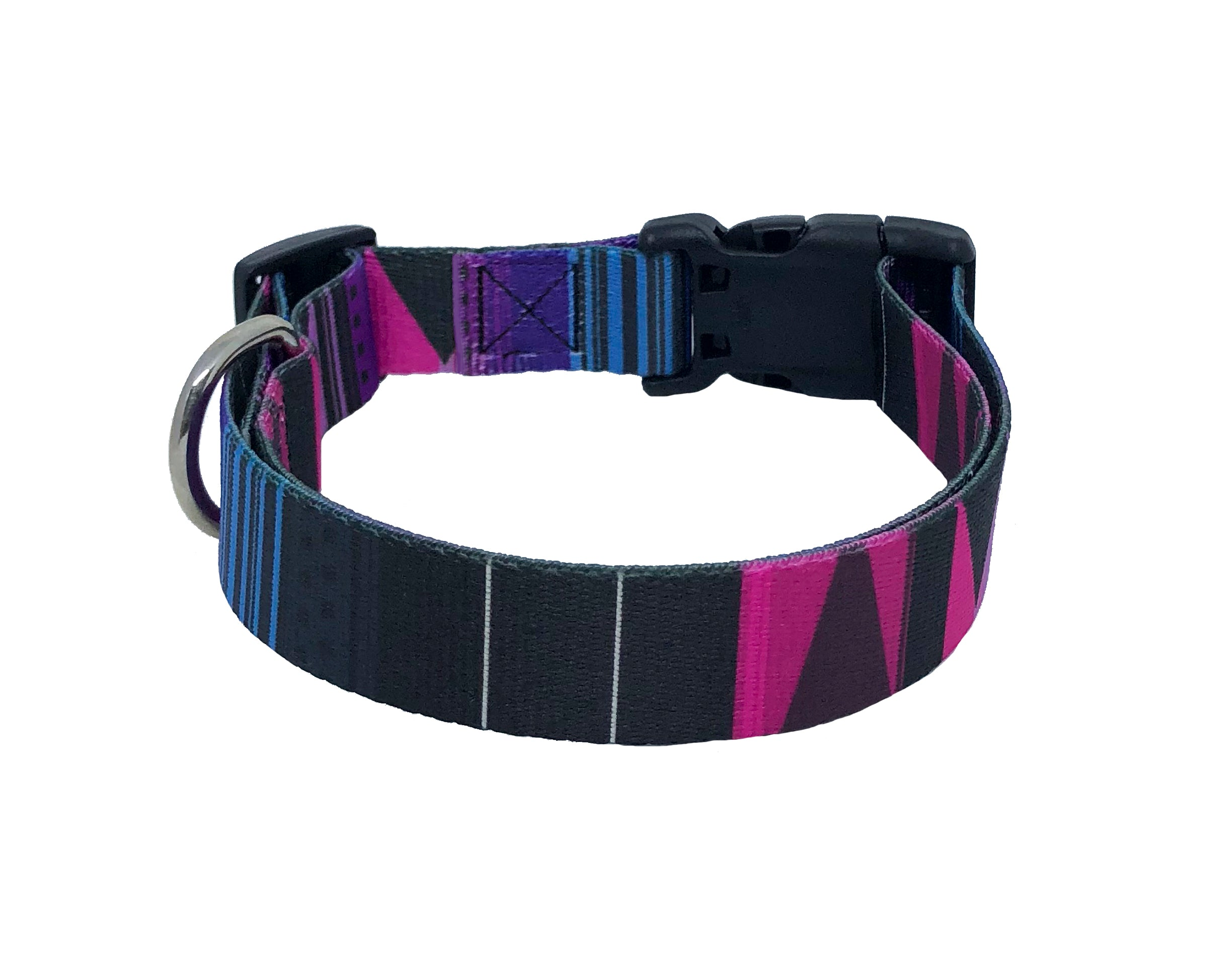 Purple Pawsome Standard Dog Collar