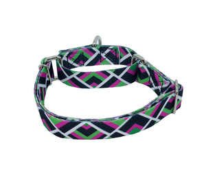 Furenzy Pink Martingale Dog Collar