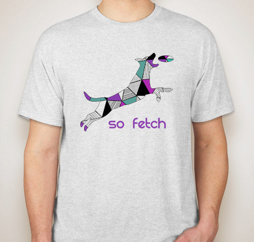 So Fetch T-Shirt (Purple)