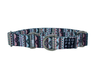Tribal Martingale Dog Collar