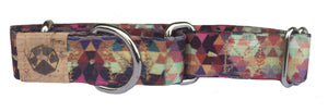 Tri Tail Martingale Dog Collar