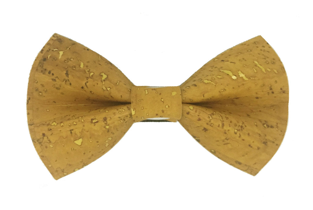 Yellow Cork Bow Tie