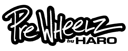 logo of PreWheelz horizontal in black