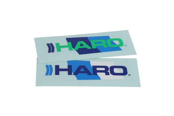1986 Haro Vintage Fork White Chrome Decal 1.