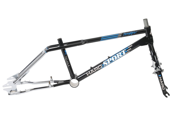 1988 Haro Team Sport Frame Kit Black Chrome.