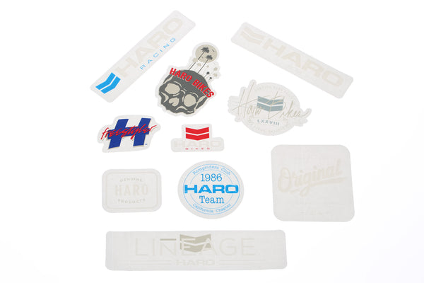 10 Pack Haro Stickers