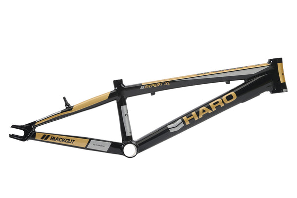 2018 Haro Blackout PTC Frame Expert Black Gold.