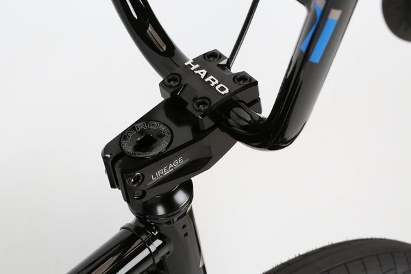 2019 Haro Group 1 RS1 Trails Black Blue Detail 2.