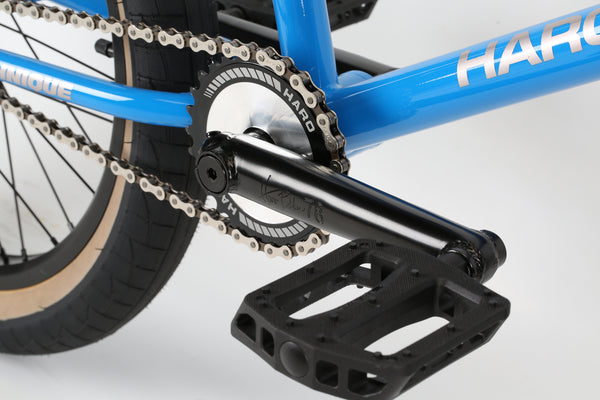 2019 Haro Group 1 RS1 Trails Black Blue Detail 3.