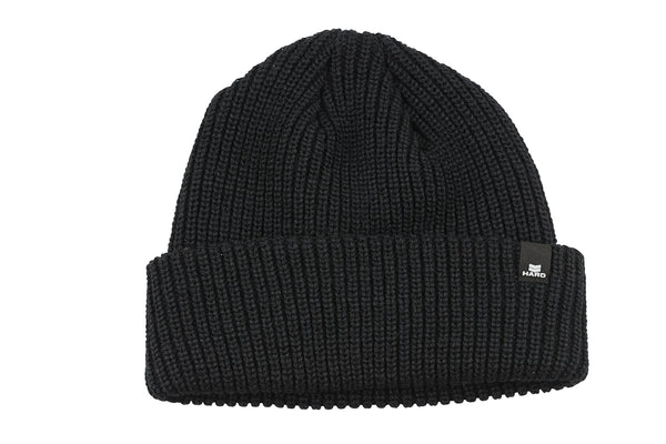 2019 Haro Loose Knit Beanie Black.