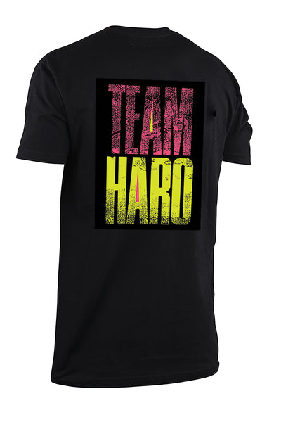 2019 Haro Team Shirt Black Back.