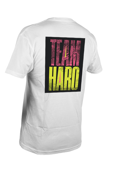 2019 Haro Team Shirt White Back.