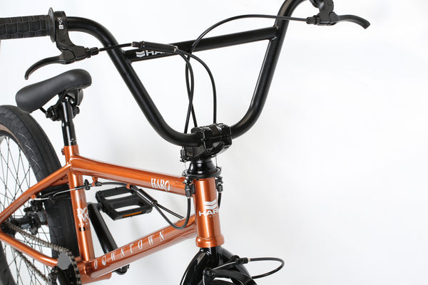 2020 Haro Downtown DLX Copper Detail 1.