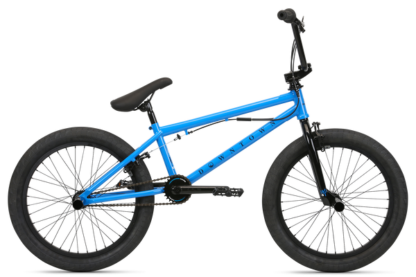 2020 Haro Downtown DLX Vivid Blue.