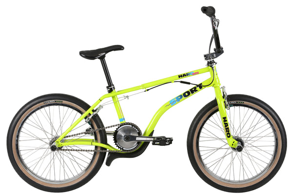 2020 Haro Lineage Sport Bash Guard Neon Green.