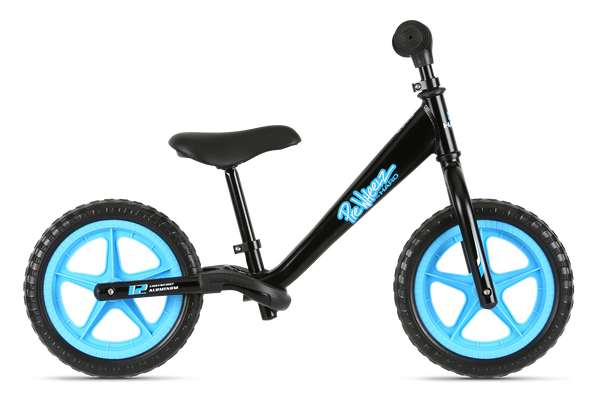 PreWheelz bike shown in Black
