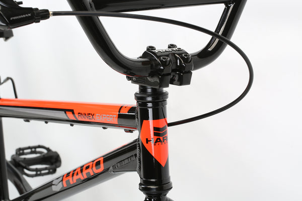 2020 Haro Race Annex Expert Black Orange Detail 1.