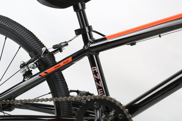 2020 Haro Race Annex Expert Black Orange Detail 3.