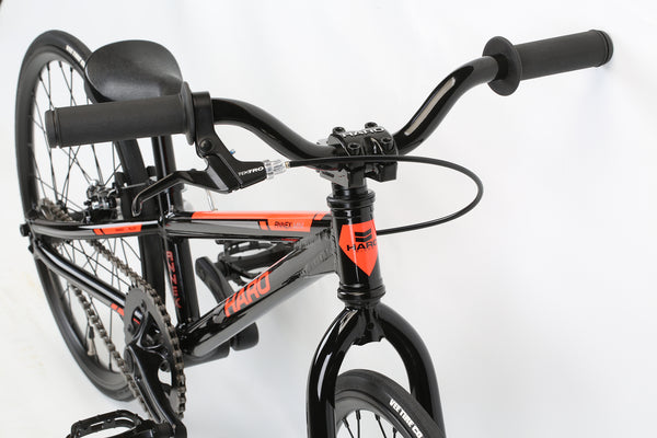 2020 Haro Race Annex Micro Mini Black Orange Detail 1.
