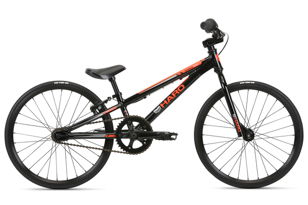 2020 Haro Race Annex Micro Mini Black Orange.