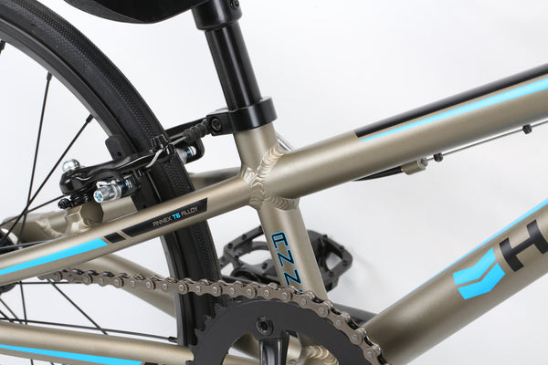 2020 Haro Race Annex Micro Mini Matte Granite Detail 4.
