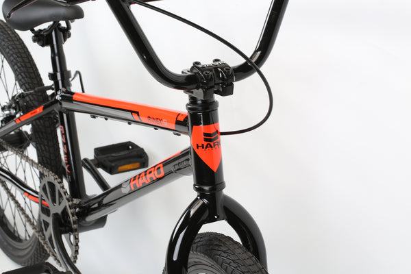 2020 Haro Race Annex SI Black Orange Detail 1.