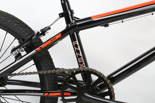 2020 Haro Race Annex SI Black Orange Detail 3.