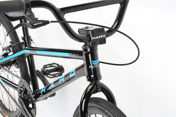 2020 Haro Race LT Junior Black Detail 1.