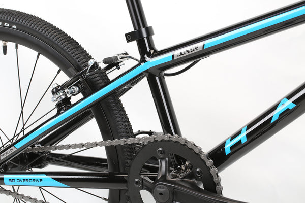 2020 Haro Race LT Junior Black Detail 3.