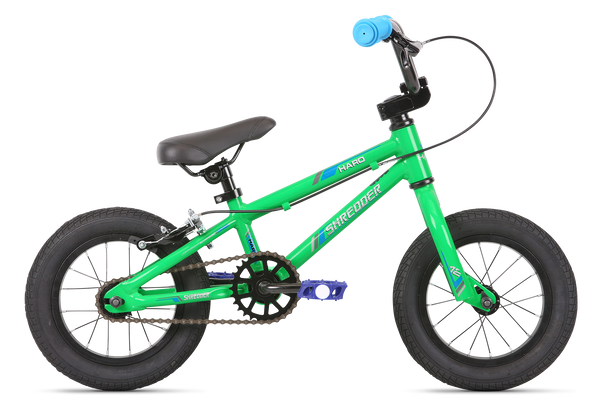 2020 Haro Shredder 12 NON COASTER BRAKE Green.