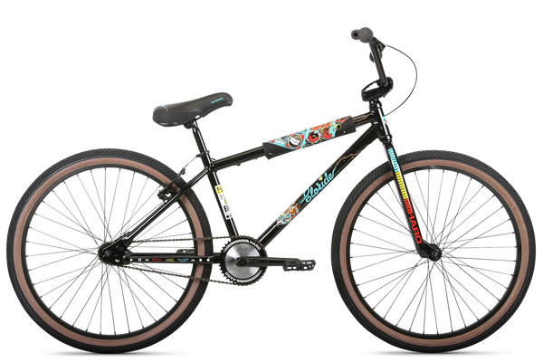 2020 Haro Sloride 26 Black With Pads.