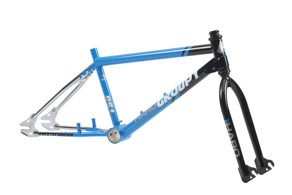Haro Group 1 RS1 Frameset Black Blue 3qtr.