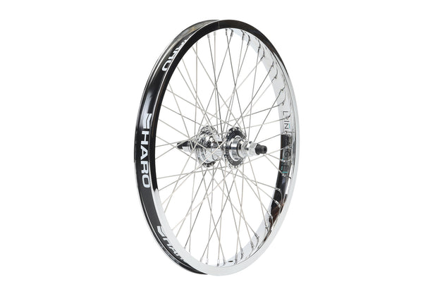 Haro Lineage Wheel 48H Rear Chrome.