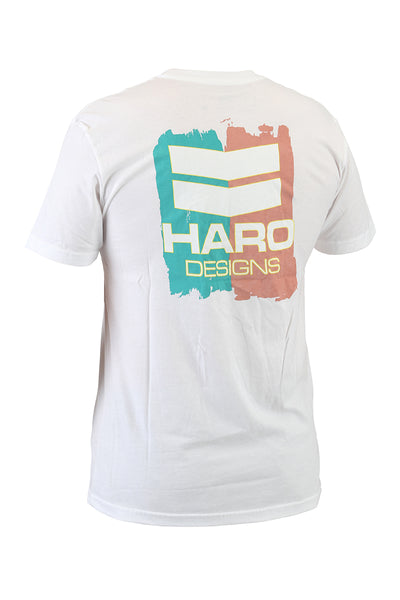 Haro Shirt Designs Paint White Back.