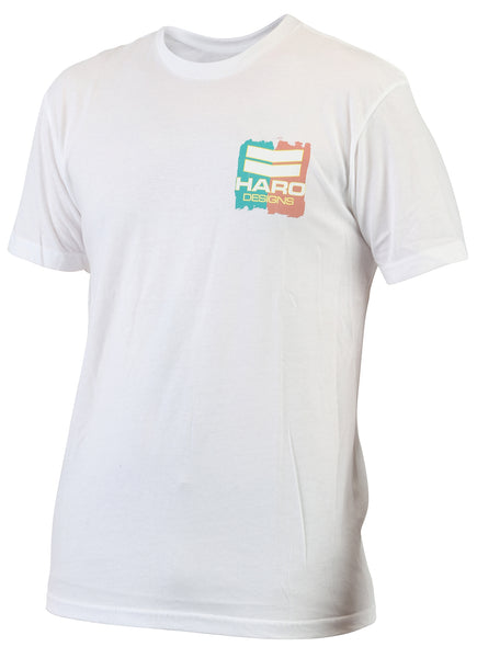 Haro Shirt Designs Paint White Front.
