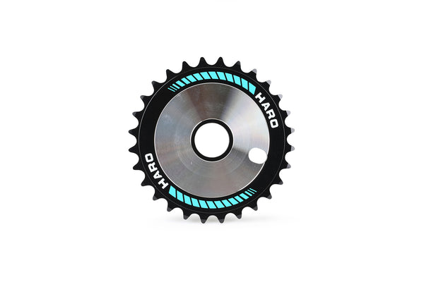 Haro Team Disc 28T Teal.