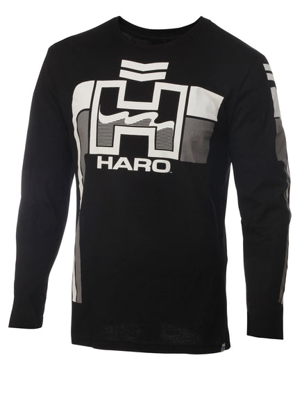 Retro Long Sleeve Black