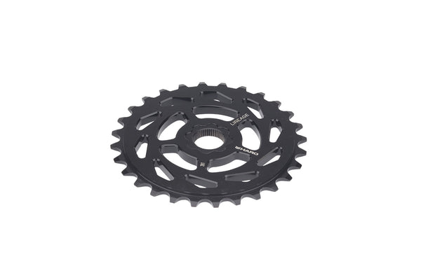 Lineage Sprocket Spline 3qtr Black.